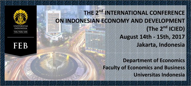 The 2nd International Conference on Indonesian Economy and Development